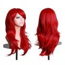 """27.5"""" 70cm Long Wavy Curly Cosplay Fashion Mermaid Fantasy Wig"""