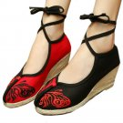 Old Beijing Embroidered Cloth Shoes Butterfly Ballet