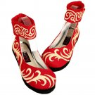 Strong Cloth Soles Old Beijing Cloth Embroidered Shoes