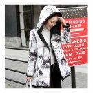 Winter Down Coat Woman Middle Long Thick Hooded
