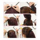 Wig Horsetail Small Short Curled