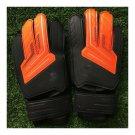 Child Teenager Goalkeeper Gloves Roll Finger   orange black   5