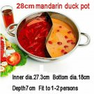 Duck hot pot thick stainless steel pots cooker special pot