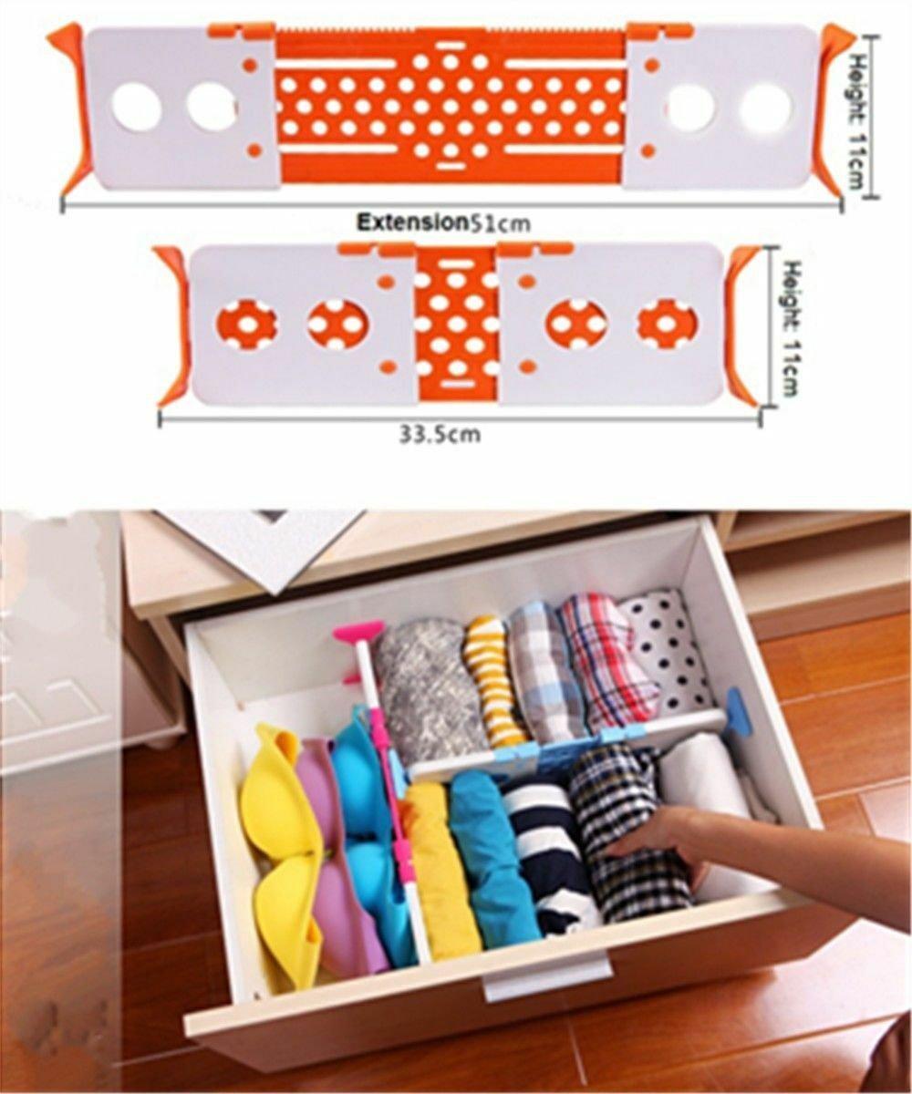 Practical wholesale free expansion bulkhead exquisite drawer underwear storage
