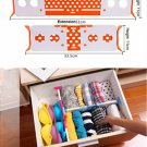 Practical wholesale free expansion bulkhead exquisite drawer underwear storage