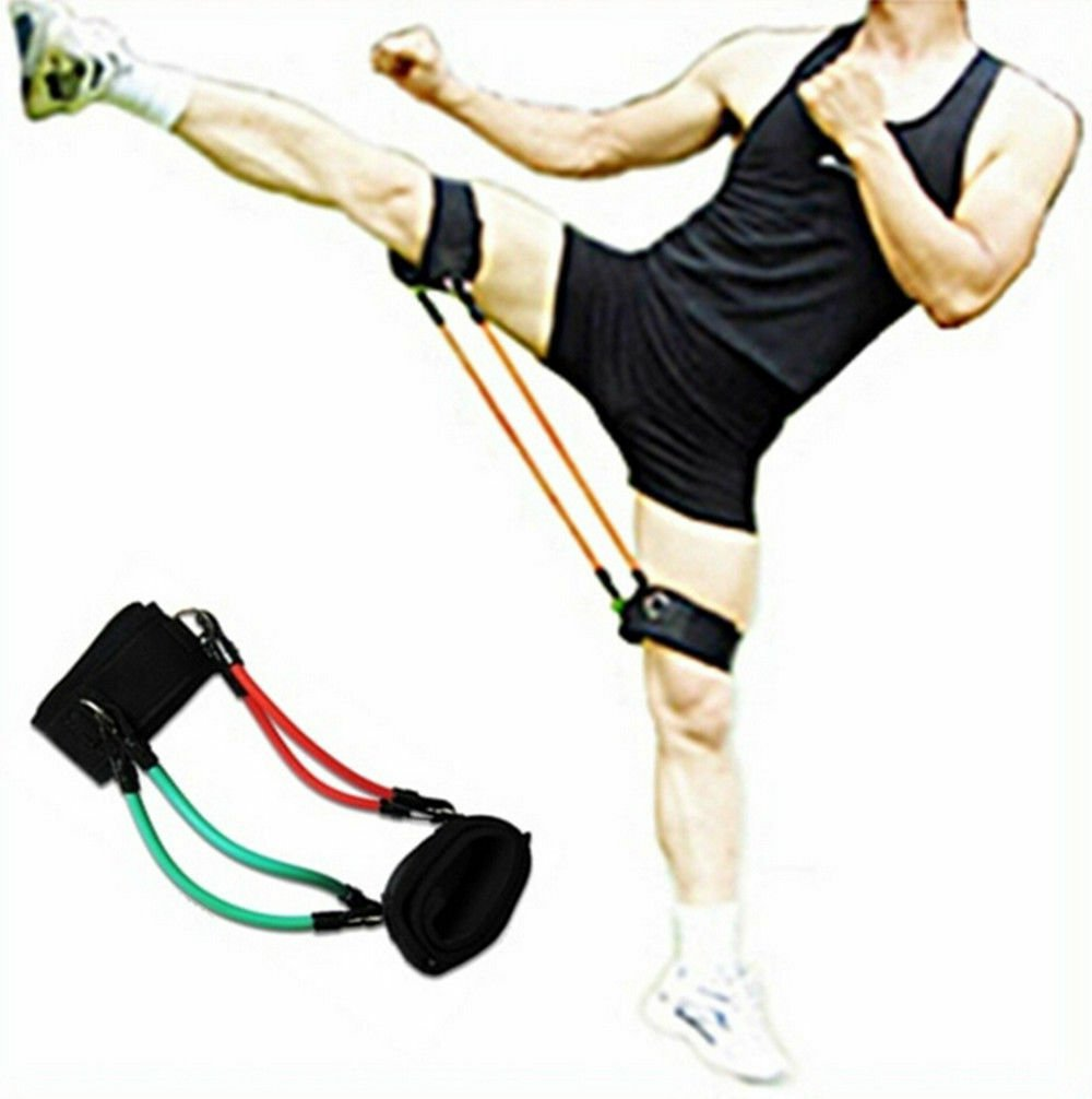 Kick training Elestic Rope Heavy weight training boxing Thai Punch taekwondo