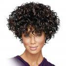 African Short Curled Hair Wig Cap