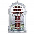 Islamic Azan Wall Clock Alarm Calendar Muslim Prayer Ramadan Gift Home Decor