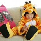 Kids Cute Cartoon Sleepwear Pajamas Cosplay Costume Animal One-piece Fancy 07