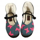 Old Beijing Cloth Embroidered Shoes Strong Cloth Soles