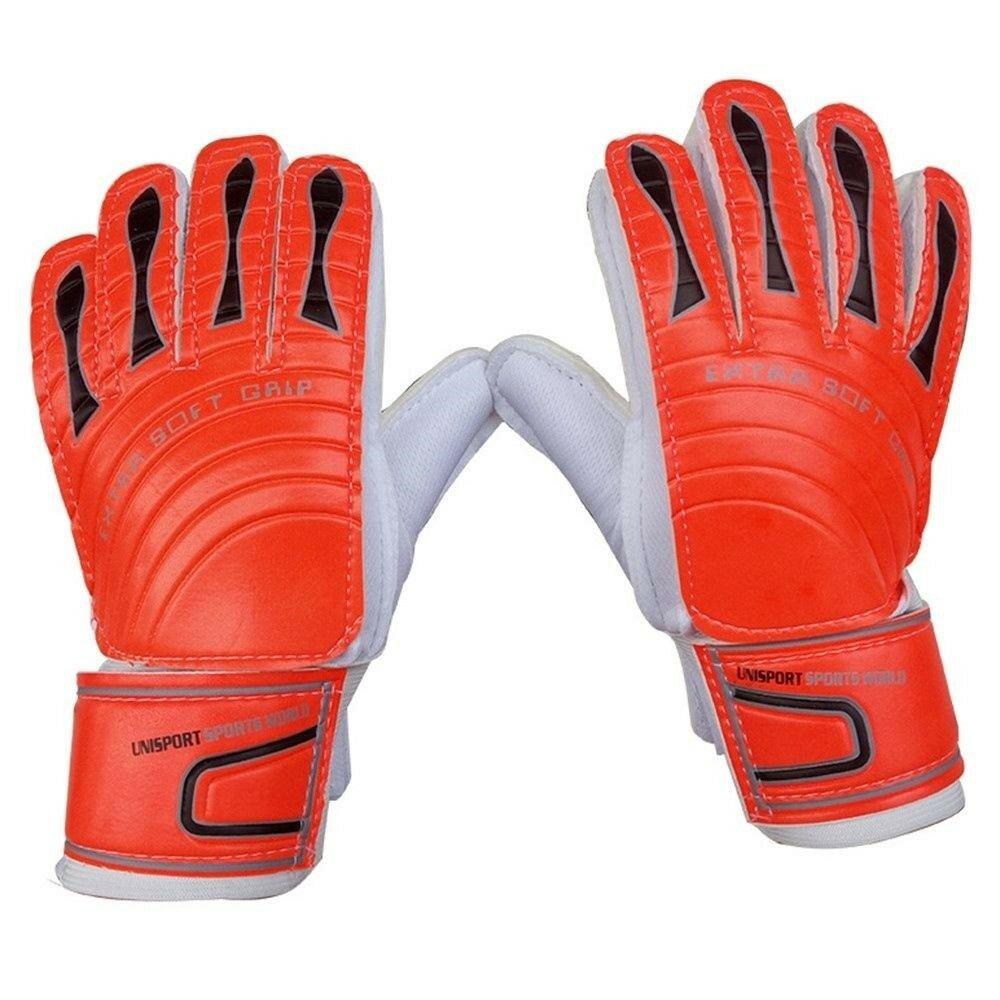 Child Goalkeeper Gloves Roll Finger   orange   4