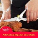 COLOR ORIGINAL STAINLESS STEEL Stainless steel kitchen scissors  VBARS