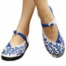 Old Beijing Embroidered Cloth Shoes Casual Ballet