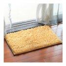 Chenille Carpet Non-slip Ground Door Mat   beige   40*60cm