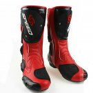 motorcycle shoes Bike race thigh boots cross-country boots knight boots Red
