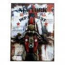 Loft Style Wall Creative Hanging Decoration   2motorcycle