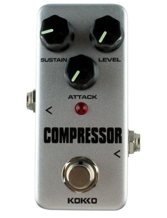 Mini Guitar Compressor Pure Analog Bypass Design Effect Pedal