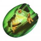 MDF Frog No Slow Descent Toilet Seat