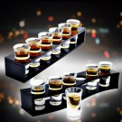 SELECT ACRYLIC Bullet CUP HOLDER 6 or 8 HOLES  26ml or 40ML 6 Cups for BAR Club