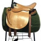 Visitor Saddle Horse Pure Cattle Leather Equestrian Supplies  big