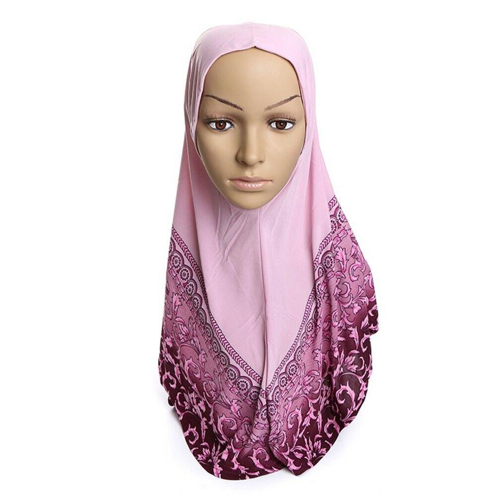 Dignified Muslim Kerchief Hat Scarf Printing   12