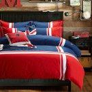 Cotton Concise Flag Warm Duvet Quilt Cover Sets Bedding Cover Sets