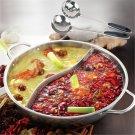 Duck hot pot thick stainless steel pots cooker special pot  Little Sheep hot pot