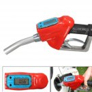 FUEL GASOLINE DIESEL PETROL GUN NOZZLE DISPENSER WITH FLOW METER
