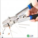 Stainless Steel Fishing Crimping Pliers with 4 Crimping Sizes