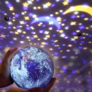 Fairy Star Projection Lamp Constellation LED Projector Night Light Earth