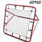 AERIAL Multi Rebound Net 65cm x 65cm Adjustable Soccer cricket golf Training aid