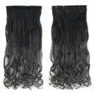 "24"" 60cm Long Curly Braids Gradient Ramp  5 Cards hair extension"
