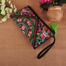 Fashioanble  Handbag Vintage Woman Embroidery Small Bag Coin Case National Style