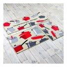 Fluff Dacron Ground Foot Non-slip Mat Carpet  kitchen life  45*60cm
