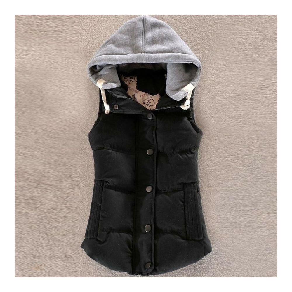 Woman Short Baseball Coat Down Coat Course Design   course black