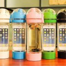 16 oz Water Bottle 100% BPA Free Tritan With iPhone 6/5s Storage ibottle