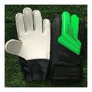 Child Teenager Goalkeeper Gloves Roll Finger   green black   5
