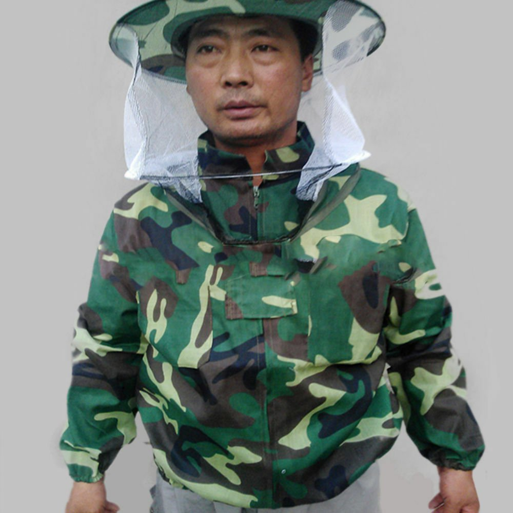 Camouflage Beekeeping Clothing Uniform Veil Equipment-Camouflage