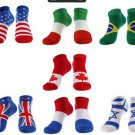 Socks Men's Male 7 pairs of FIags Ankle Socks