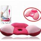 Slow Rebound Massage Cushion Breathable Sofa Office Round Beautify Hip Cushion