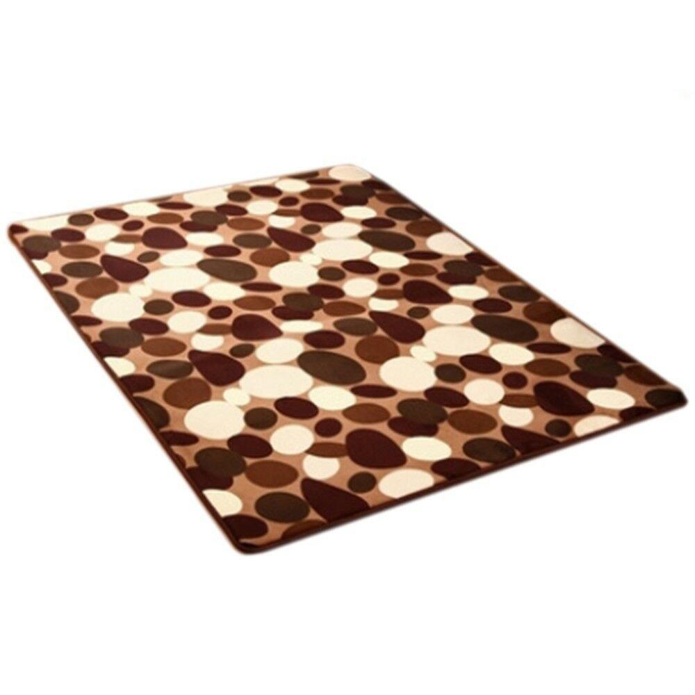 Carpet Coral Fleece Non-slip Door Mat  04  40*60cm