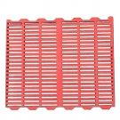 Red Piglet Pig Plastic Floor Board Dung Mesh 50x70