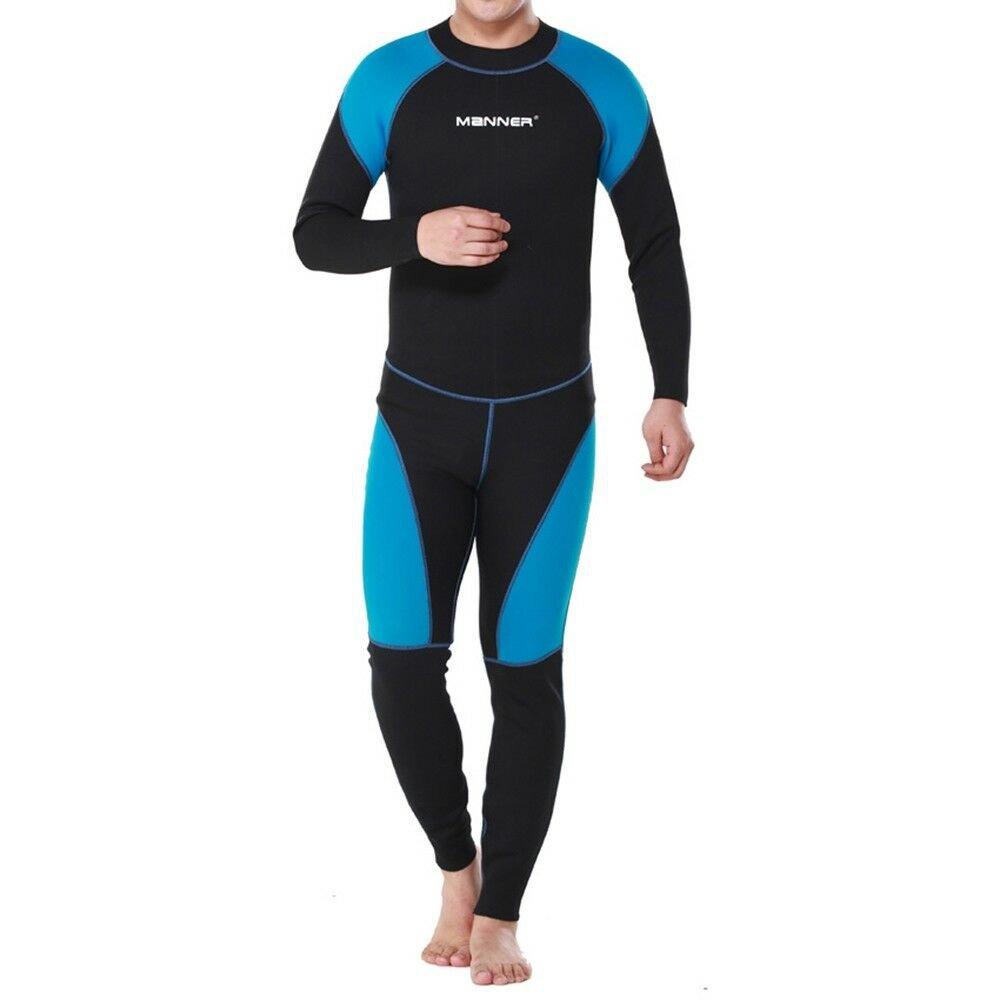 1.5mm Man Long Sleeve Wet Type Diving Suit Wetsuit S