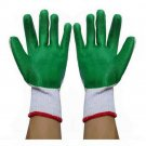 one pair Work Universal Protection Glue Gloves 24cm Green