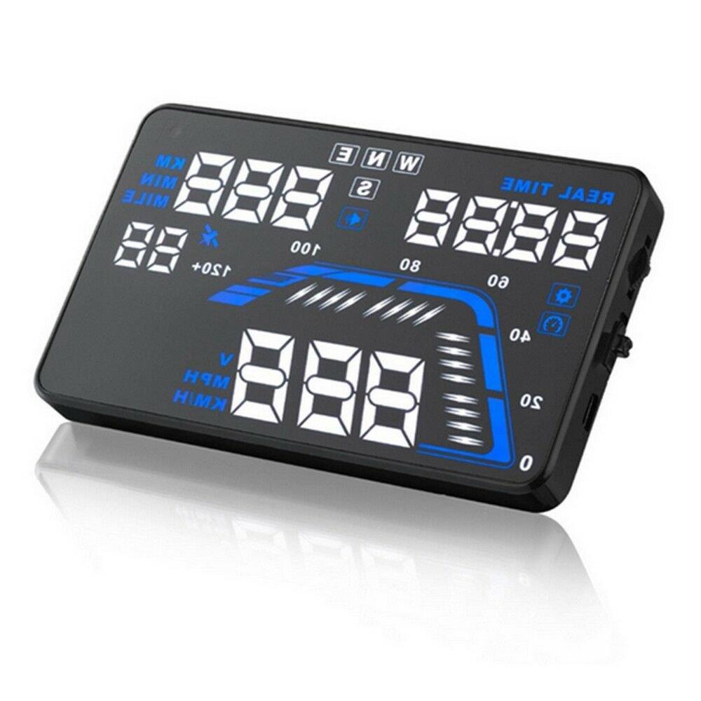 Q7 Car Vehicle HUD Head Up Display Speed Warning Projector