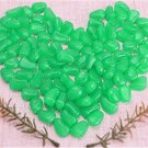 100pcs Hot Man-Made Glow in the Dark Pebbles Stone for Garden Walkway