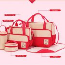 Mother Handbag  Hot 5pc Baby multifunction Changing Diaper Nappy Mummy