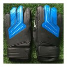 Child Teenager Goalkeeper Gloves Roll Finger   blue black   5