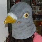 Pigeon Head Mask Rubber Latex Animal Costume Full head Mask Halloween Costume Fa