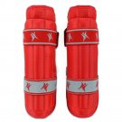 Free Combat Boxing Protective Gear Shin Guard Bamboo red S